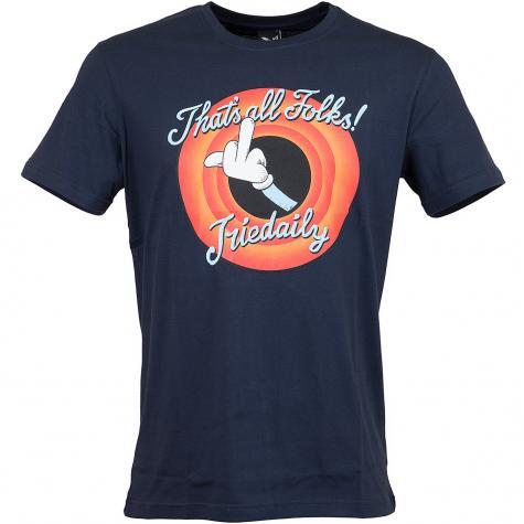 Iriedaily T-Shirt Thats All dunkelblau