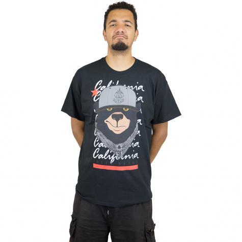 Joker Brand T-Shirt Cali Bear schwarz