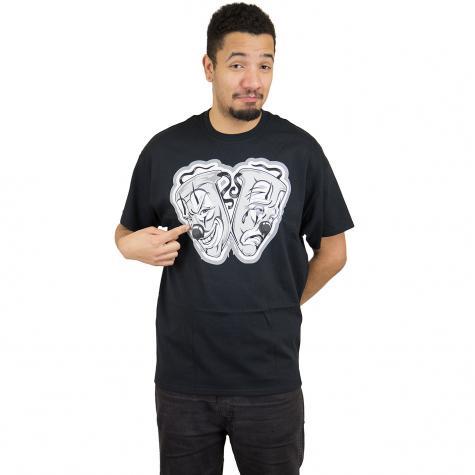 Joker Brand T-Shirt Drama schwarz