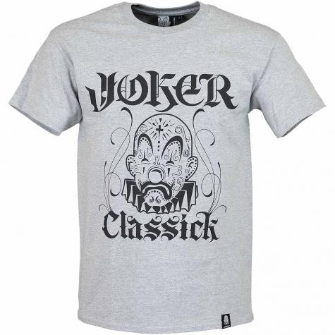 Joker Brand T-Shirt New Classick grau