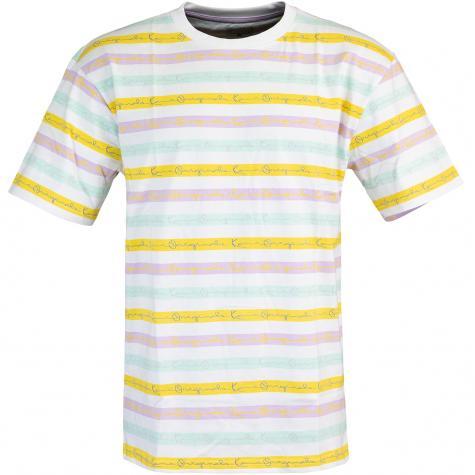 Karl Kani Originals Stripe T-Shirt multi