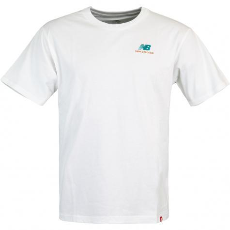 New Balance Essential Embroidered T-Shirt weiß