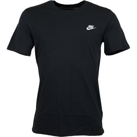 Nike T-Shirt Embroidered Futura schwarz