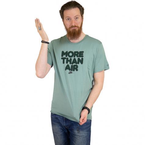 Nike T-Shirt More Than Air grün/schwarz