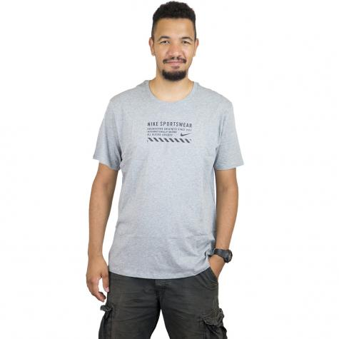 Nike T-Shirt Table HBR 24 grau/schwarz