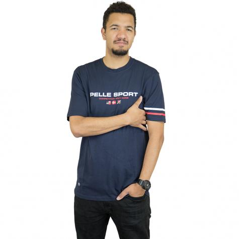 Pelle Pelle T-Shirt No Competition dunkelblau