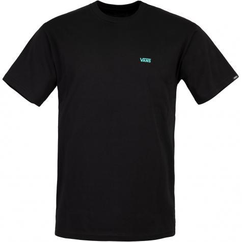 Vans Left Chest Logo T-Shirt Herren schwarz