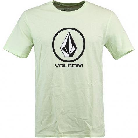 Volcom T-Shirt Crisp Stone hellgrün