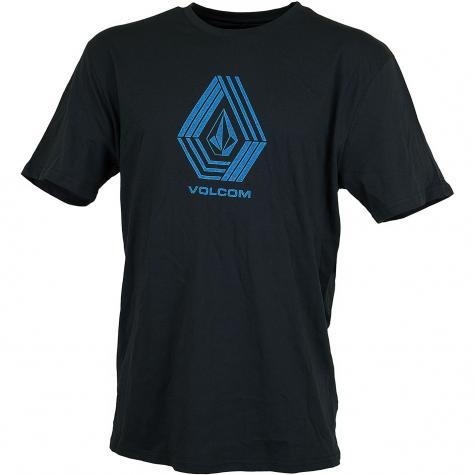 Volcom T-Shirt Cyclestone schwarz