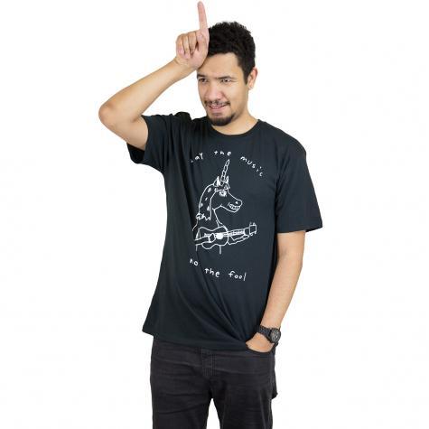 Volcom T-Shirt Not The Fool schwarz