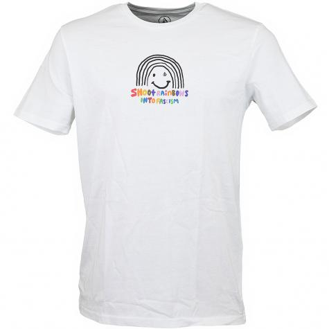 Volcom T-Shirt Ozzy Rainbow weiß