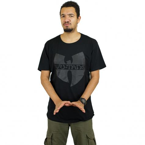 Wu-Wear T-Shirt Black Logo schwarz