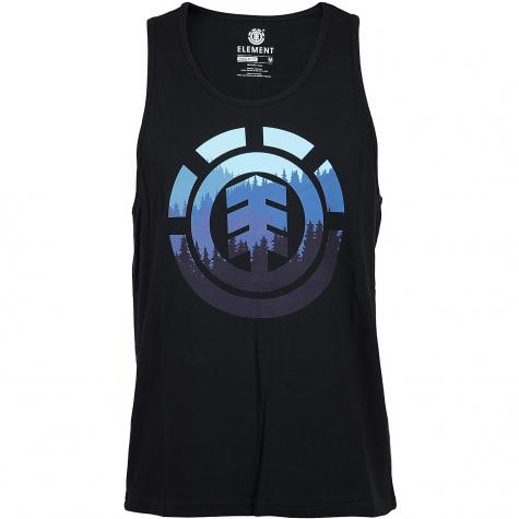 Element Tanktop Glimpse Icon flint schwarz