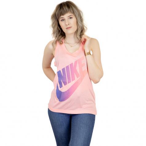 Nike Damen Tanktop Futura coral/lila