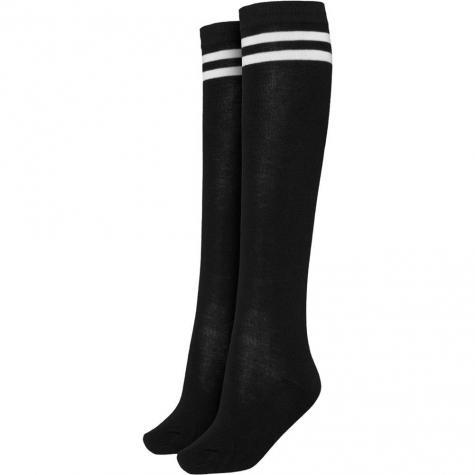 Urban Classics Damen College Socken schwarz/weiß
