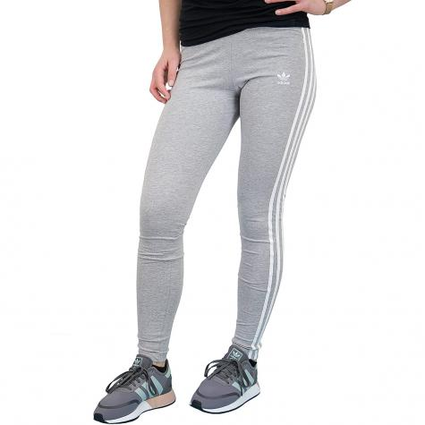 adidas originals 3 stripes leggings grau