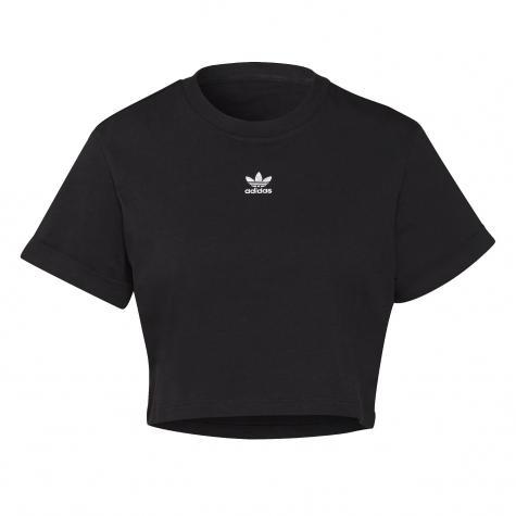 Adidas Essential Cropped Damen Top schwarz