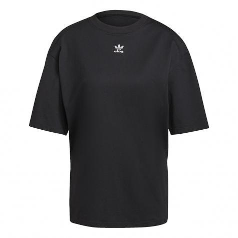 Adidas Essentials Damen T-Shirt schwarz