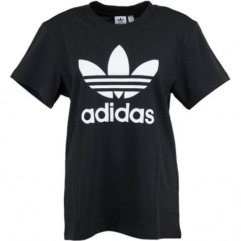 Adidas Originals Damen T-Shirt Boyfriend schwarz