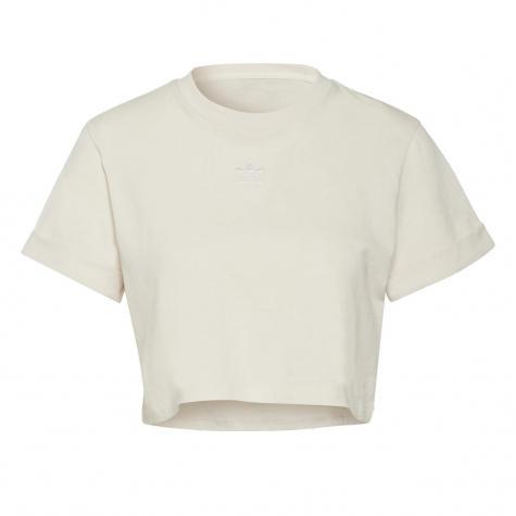Adidas Essential Cropped Damen Top weiß