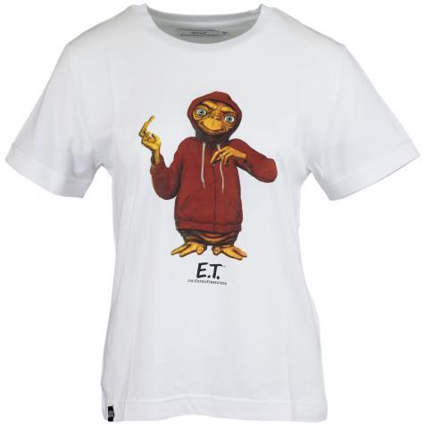 Dedicated Damen T-Shirt Extra Terrestrial weiß