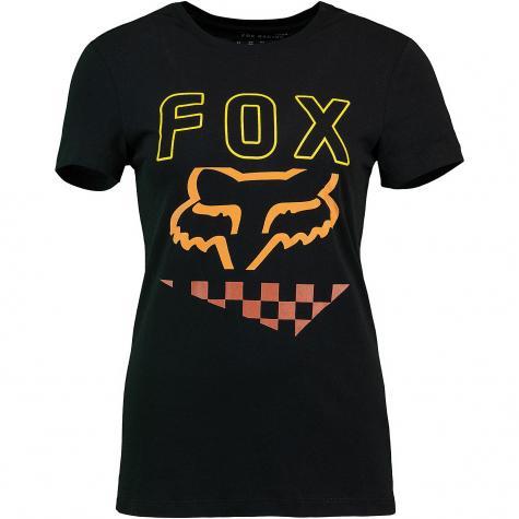 Fox Damen Top Richter schwarz