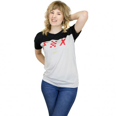 Fox Damen T-Shirt Rodka grau