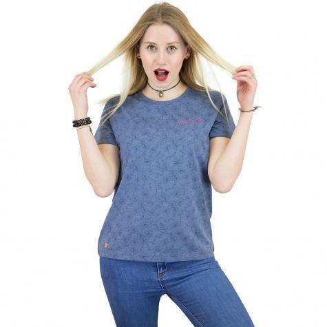 Mazine Damen T-Shirt Flora blau