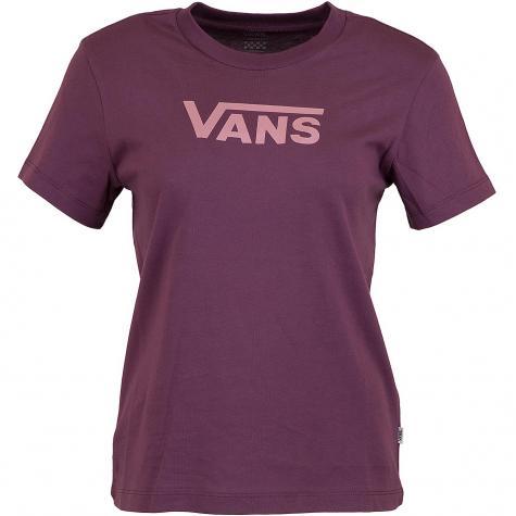 Vans Damen T-Shirt Flying V Classic weinrot