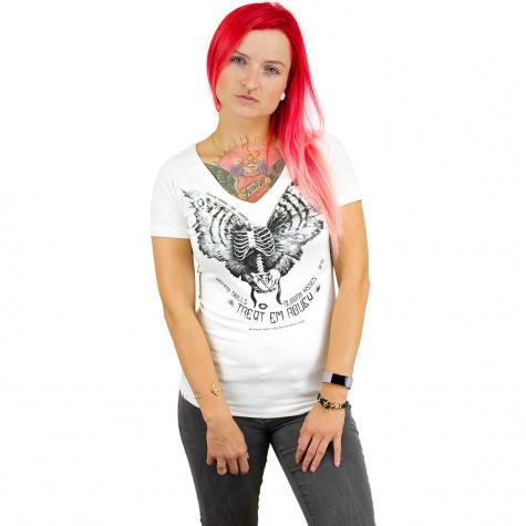 Yakuza Premium Damen T-Shirt 2336 weiß