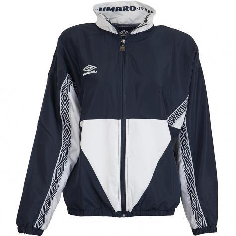 Umbro Damen Trainingsjacke Shell dunkelblau/weiß
