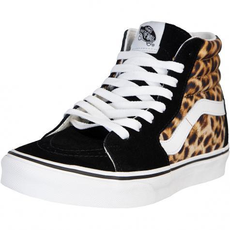 Vans Damen Sneaker Sk8-Hi Leopard mehrfarbig