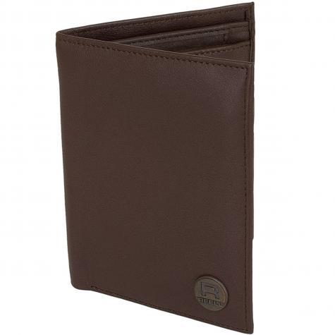 Reell Geldbörse Clean Leather braun