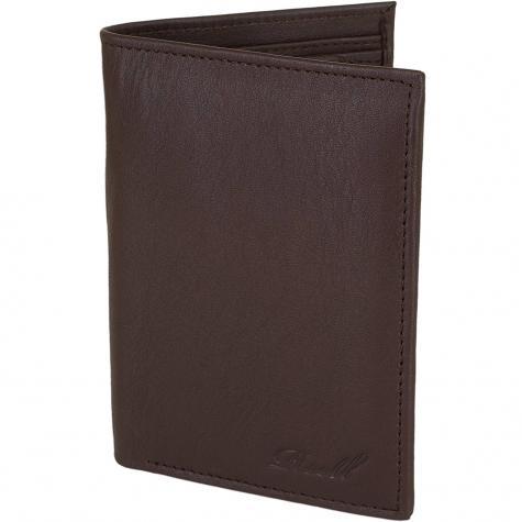 Reell Geldbörse Trifold Leather braun