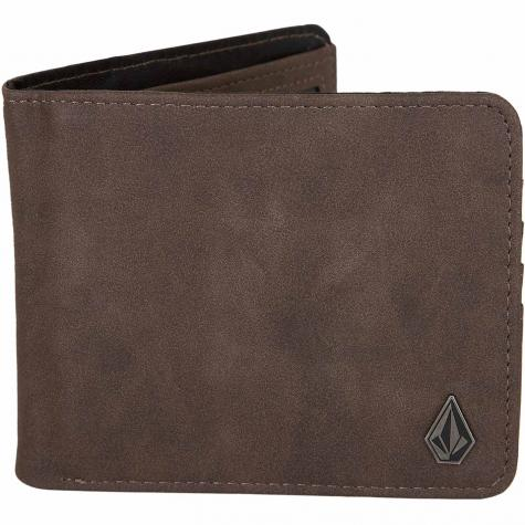 Volcom Geldbörse Slim Stone L dark brown