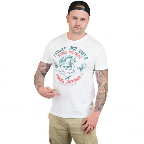 Yakuza Premium T-Shirt 2418 weiß