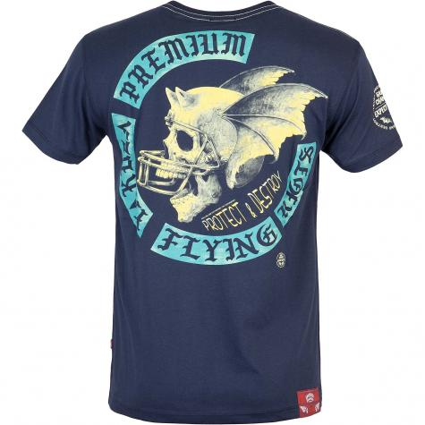 Yakuza Premium Herren T-Shirt 3010 Navy dunkelblau