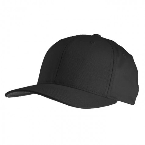 Yupoong Flexfit Basecap schwarz