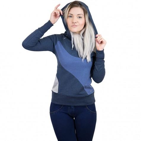 Mazine Damen Hoody Ervie Light dunkelblau