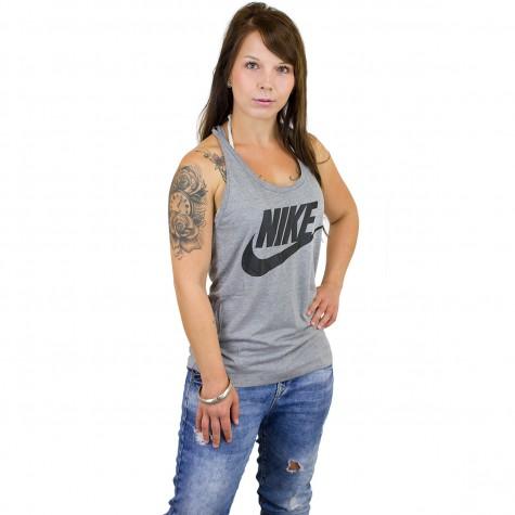 Nike Damen Tanktop Essential carbon/schwarz