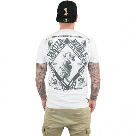 yakuza premium t shirt 2412 wei hier bestellen. Black Bedroom Furniture Sets. Home Design Ideas