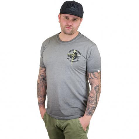 Yakuza Premium T-Shirt Vintage 200 grau