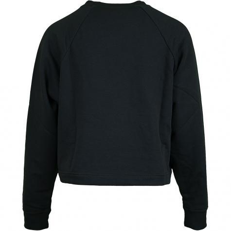 Nike Damen Sweatshirt Essential Fleece Tie schwarz