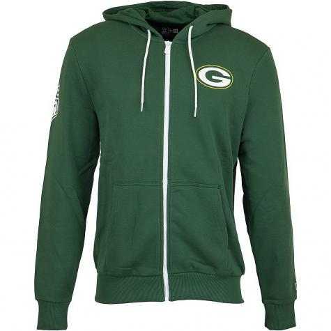 New Era Hoody NFL Large Graphic Packers grün