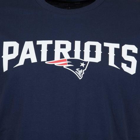 New Era T-Shirt NFL Fan New England Patriots navy