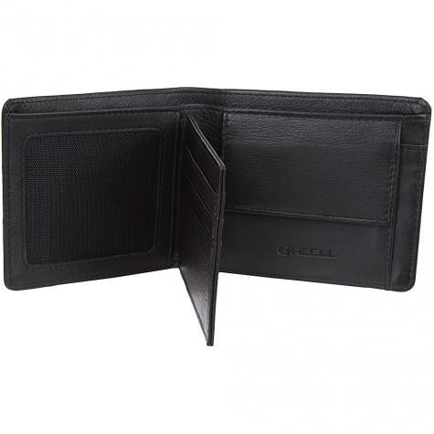 Reell Geldbörse Strap Leather schwarz