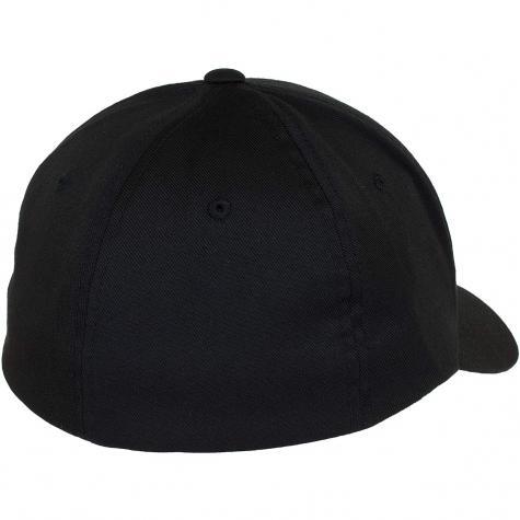 Cleptomanicx Flexfit Cap Flex schwarz