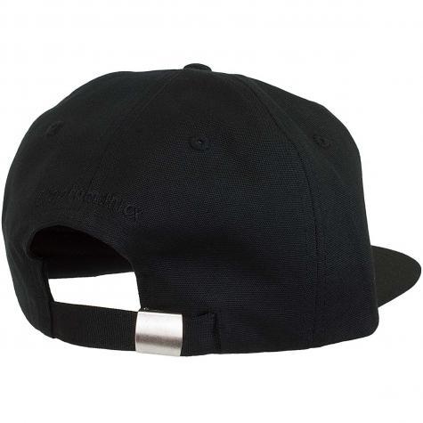 Cleptomanicx Snapback Cap Mini Gull schwarz