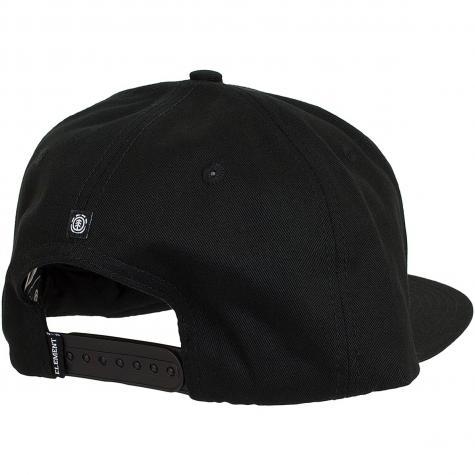 Element Snapback Cap United flint schwarz