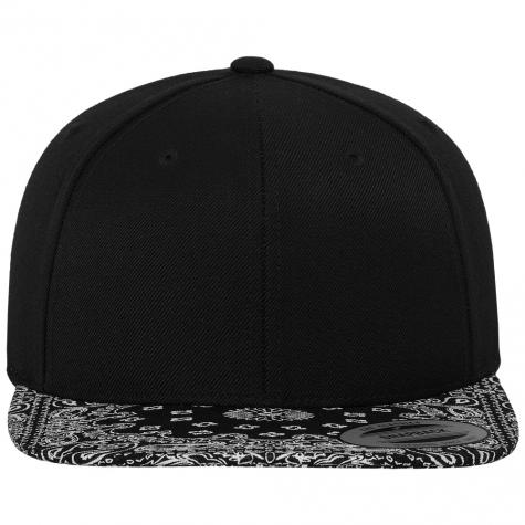 Bandana Snapback Cap black/black